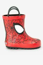 CHILDRENS WELLIES BOYS WELLINGTONS KIDS SPIDERMAN RAIN WINTER SNOW BOOTS SIZE