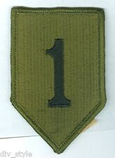 1st Infantry Division US Army subdued patch