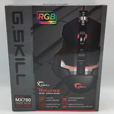G.SKILL RIPJAWS MX780 USB Cutting Edge RGB 8200 DPI Laser Gaming Mouse