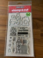 Hero Arts Stamp and Cuts: Gingerbread House