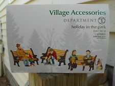 DEPT 56 GENERAL VILLAGE Accessories HOLIDAY IN THE PARK NIB