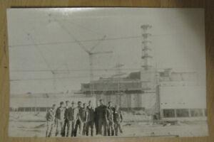 Photo Liquidators Accident CHERNOBYL Nuclear power plant Tragedy Radiation