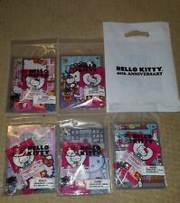 SDCC 2015 Exclusive Hello Kitty Upper Deck cards with dog tags