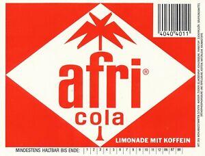 Afri Cola Bauchetikett