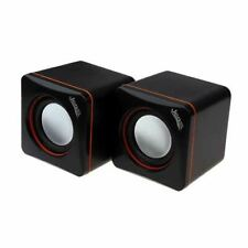 More details for jedel usb powered mini pc speakers wired 6w rms travel fo pc laptop tablet phone