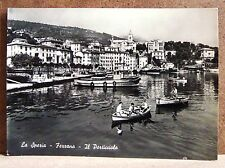 La Spezia - Fezzano - il porticciolo [grande, b/n, viaggiata]