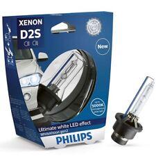 Philips White Vision D2S Headlight 120% more light Xenon Bulb 85122WHV2S1 Single