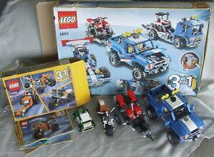 LEGO CREATOR BUNDLE 5893, 31059, 31056