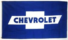 Chevrolet Premium Blue & White Bowtie Flag 3' x 5' Banner (USA Seller)
