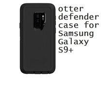 Otter Defender Rugged shockproof Black case for Samsung Galaxy S9+ (S9 PLUS)