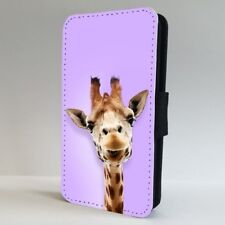 Giraffe Funny Face Animal FLIP PHONE CASE COVER for IPHONE SAMSUNG