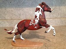 "Custom Painted Breyer Traditional Horse "" Wyatt "" Pinto OOAK"