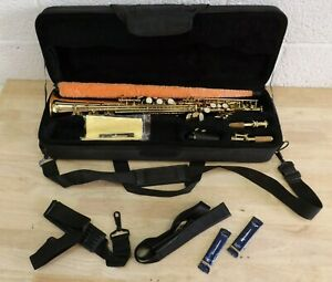Eastman b flat Soprano Saxophone with Reeds and Case (Hospiscare)