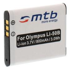 Akku Li-50b Li50b für Olympus TOUGH TG-610, TG-810, XZ-1 / mju µ 1010, 1020