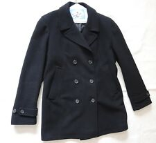 WOMEN'S SIZE 14, BLACK, DOUBLE-BREASTED COAT BY DKNY!