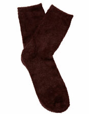 Slenderella BS165 Women's Chocolate Luxury Supersoft Fluffy Socks One Size