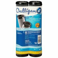 2-Culligan D-10A Level 1 Under Sink Drinking Water Filter Replacement Cartridge