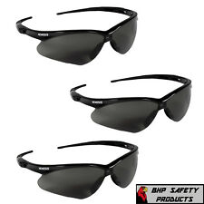 (3 Pair) Jackson Nemesis Safety Glasses Smoke Anti-Fog Lens Sunglasses 22475