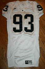 Notre Dame Football Team Issued Irish Game Jersey #93 Adidas Men sz 46 Authentic