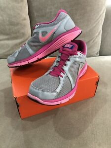 Womens Nike Dual Fusion Run Running Shoes Sneakers Trainers 10 US Pink [WS2]