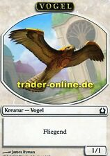 2x Spielstein Vogel (Token Bird) Return to Ravnica Magic