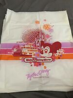 Vintage 1986 Walt Disney World Plastic Souvenir Shopping Bag Carry Bag