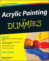 Acrylic Painting For Dummies by Pitcher, Colette