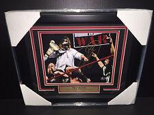 WWE WWF MICK FOLEY MANKIND AUTOGRAPHED FRAMED 8X10 PHOTO LEGEND