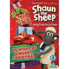 Shaun the Sheep We Wish Ewe a Merry Christmas (Region 2) New DVD
