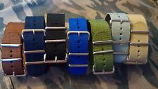 Cinturino Orologio 24 mm watch nylon strap band correa reloj bracelet nato
