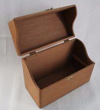 Antique Wood Box for Doll Clothes Storage  Primitive Vintage