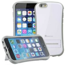 Tough Shockproof Rugged Case With Kickstand for Apple iPhone 6 6S 4.7 - White