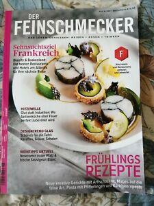 Der Feinschmecker Heft juni 6/2021 Neu ohne extra