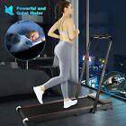 2.25HP 2 in1 Folding Treadmill Under Desk Jogging Machine Electric LCD 12km/h