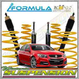 Commodore VF Sedan Coil Spring FORMULA Strut Lowered Suspension Package 50mm Low