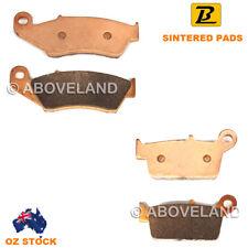 FRONT+REAR Sintered Brake Pads BETA RR 400 4T Enduro 2005 2006 2007 2008-2014