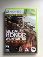Medal of Honor: Warfighter Limited Edition (Microsoft Xbox 360, 2012) VERY GOOD!