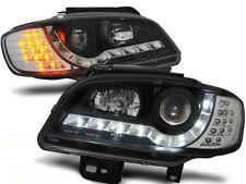 LED FARI ANTERIORI LPSE22 SEAT IBIZA / CORDOBA MK III 1999 2000 2001 2002 NERO