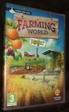 Farming World Digital Download Card PC NEW SEALED FREE UK Delivery