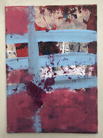 Hasworld Original Signed Painting Contemporary Abstract Expressionist street Art