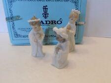 "Lladro # 5729 ""Three Kings Set"" Ornaments- Mint Condition with Original Box"