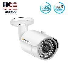2MP 1080P IP POE IP Camera Security 3.6mm Bullet CCTV Network IR Night Vision