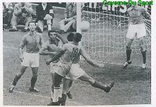 087 PELE BRAZIL Vs FRANCE HISTORY STICKER EURO 2016 FIERS D'ETRE BLEUS PANINI