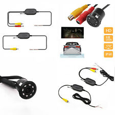170° 2.4G Wireless Car Rear View Backup System Waterproof Reversing Camera