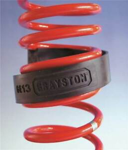 Grayston Coil Spring Assisters & Raisers 51-65mm Spring Gap, Pair GE15A, Towing