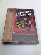 """DVD """"MURIERON CON LAS BOTAS PUESTAS"""" DVD LIBRO DIGIBOOK PRECINTADO SEALED ERROL"""