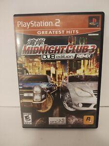 PS2 Midnight Club 3 DUB Edition Remix Complete