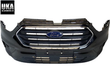 FORD TRANSIT CUSTOM 2018-20 FRONT BUMPER WITH GRILL AND FOG LIGHT IN BLACK