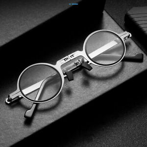 Men Womens Blue Light Blocking Reading Glasses Round Portable Readers