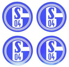 FC Schalke 04 Aufkleber 4er Set Sticker - Logo Fussball #613